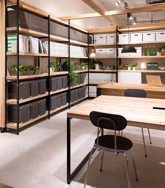 Office Furniture using Native Japanese Cedar