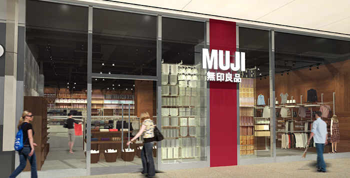 MUJI Atrium on Bay
