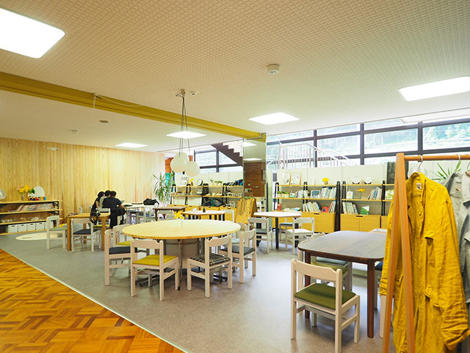 """Nikkori Café,"" a community café made by everyone"