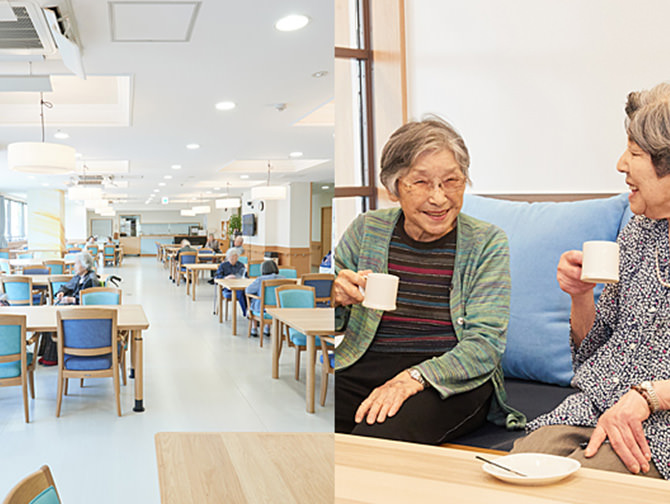 Renovation of nursing facilities for the elderly