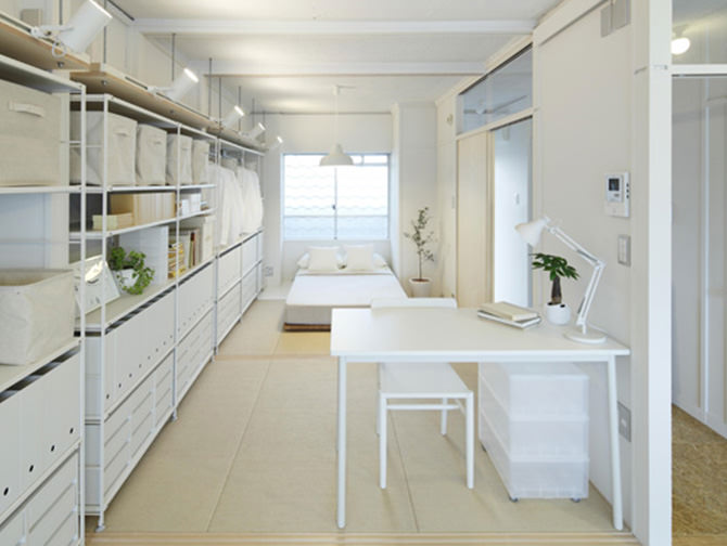 MUJI×UR housing complex renovation project