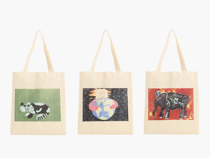 My Bags with Children's Artworks