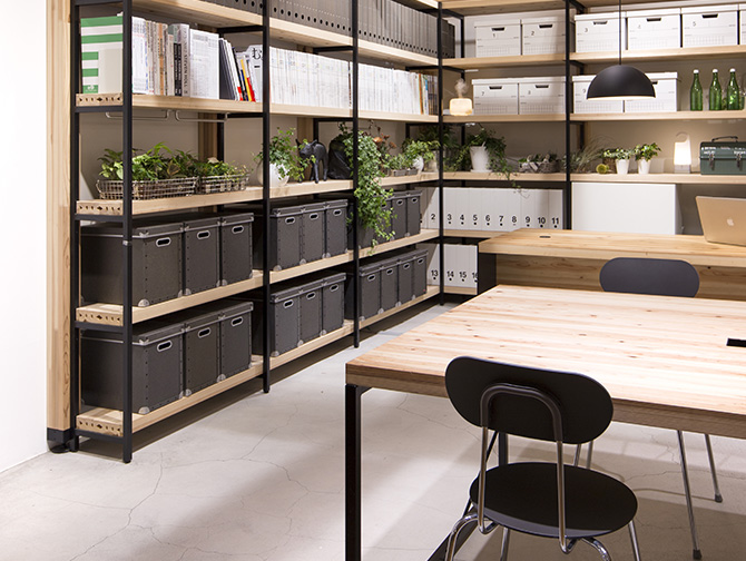 Development/Sales of Office Furniture Using Native Japanese Cedar